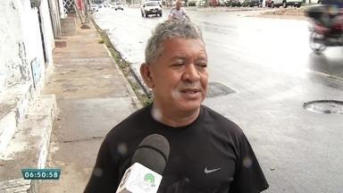 População sofre com irregularidades nas vias dos transportes coletivos - Saiba mais em g1.com.br/ce