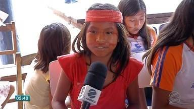Projeto de conscientização sobre autismo é levado para aldeia indígena de Rondonópolis - Projeto de conscientização sobre autismo é levado para aldeia indígena de Rondonópolis.