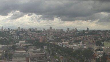 Confira a previsão do tempo para a região de Campinas nesta quarta-feira - Região tem previsão de chuva para o decorrer desta semana.