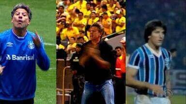 Renato Portaluppi tem bom retrospecto contra argentinos como técnico - Assista ao vídeo.