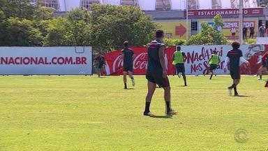 Nico López poderá ganhar chance no time do Inter com ausência de Damião - Assista ao vídeo.