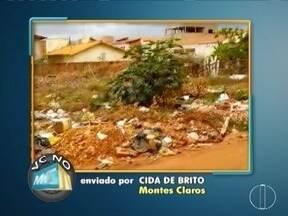 Vc no MG: Moradores do Bairro Santa Lúcia cobram pavimentação e limpeza de lotes - Morador de Mirabela reclama de obra iniciada pela prefeitura no Município de Muquem.