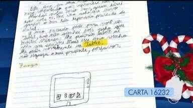População pode realizar sonhos de crianças na campanha Papai Noel dos Correios - População pode adotar cartinhas de crianças na campanha Papai Noel dos Correios