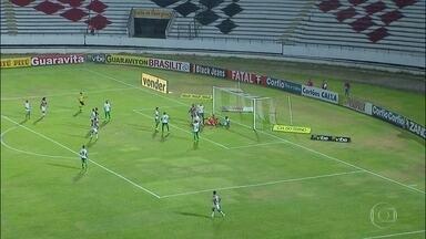 Em último jogo pela Série B, Santa Cruz encerra participação com goleada - Em último jogo pela Série B, Santa Cruz encerra participação com goleada