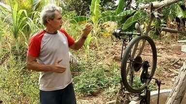 Agricultor inventa soluções para enfrentar as dificuldades do campo - Confira mais notícias em G1.Globo.com/CE