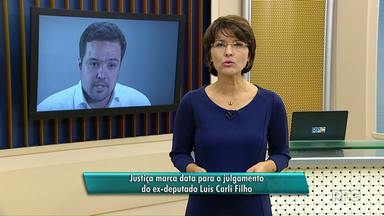 Marcado, de novo, julgamento do ex-deputado Carli Filho - Ele vai a Júri Popular pela morte de dois jovens num acidente de trânsito em 2009.