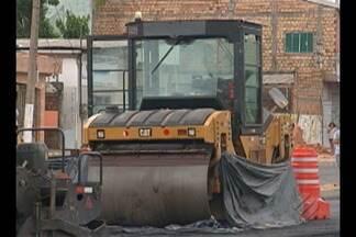 Operário sofre acidente e morre esmagado por rolo compressor em Belém - O funcionário trabalhava na obra de prolongamento da avenida João Paulo II.