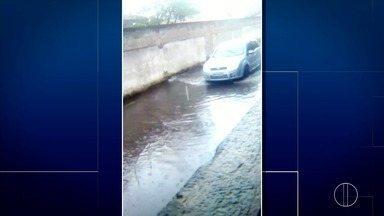Vídeo mostra ruas alagadas em São João da Barra, no Norte Fluminense - Assista a seguir