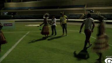 Segunda edição dos Jogos Indígenas tem início no Estádio Rei Pelé - Aldeias de dez etnias participam da competição.