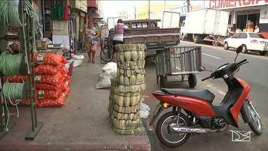 Projeto tenta organizar trânsito no mercadinho em Imperatriz - Depois de muita reclamação um projeto tenta organizar o trânsito no local.