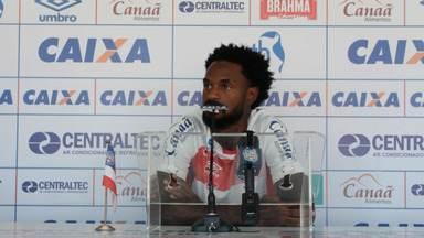 Bahia: Renê Júnior está de volta e deve jogar contra a Chapecoense - Confira as notícias do tricolor baiano.
