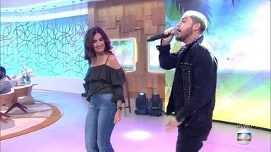 Jammil canta 'Navegando a Vida' - Banda apresenta nova música de trabalho no 'Encontro'