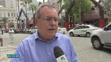 Lojas do Centro de Fortaleza passam por mudanças nos horários de funcionamento - Saiba mais em g1.com.br/ce