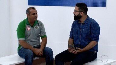 RJ Inter TV 1ª Edição recebe técnico da Cabofriense no estúdio nesta quinta-feira - Assista a seguir.