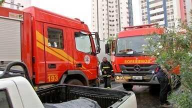 Ferro de passar pode ter sido a causa de incêndio em apartamento - Ferro de passar pode ter sido a causa de incêndio em apartamento.