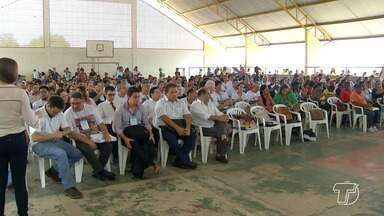Conferência debate revisão do Plano Diretor de Santarém - A conferência está sendo realizada na escola municipal Brigadeiro Eduardo Gomes, no bairro Aeroporto Velho.