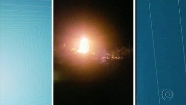 Vândalos incendeiam imagem de Nossa Senhora em Gravatá - Manto da santa foi a única parte que foi danificada pelo fogo.