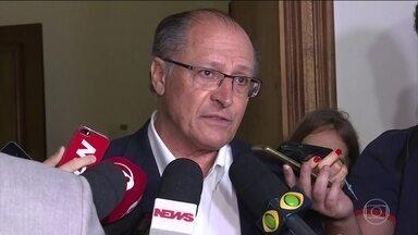 Geraldo Alckmin deve ser candidato único à presidência do PSDB - Uma reunião no Palácio dos Bandeirantes, em São Paulo, selou o nome do governador do estado como próximo presidente do partido.