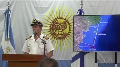 Divulgada a última comunicação de submarino que sumiu na Argentina - Áudio foi divulgado pelo canal de TV argentino A-24.