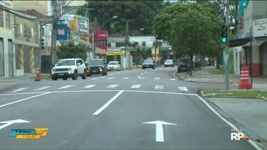Novo binário na Mateus Leme e Nilo Peçanha começa funcionar hoje - Os sentidos das ruas serão invertidos.