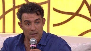 Marcos Pasquim se preocupa com bullying - Ator tem filha de 13 anos e teme que ela sofra na escola