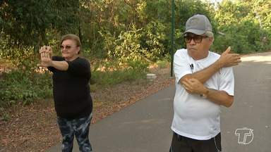 Exercícios físicos e boa alimentação contribuem para o envelhecimento saudável - Em quatro anos, o número de idosos no Brasil aumentou 16%,segundo o Instituto Brasileiro de Geografia e Estatística (IBGE).