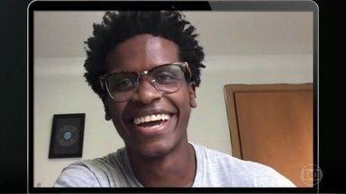 Diego Raimundo foi preso usando a camisa da Reserva e depois fez campanha da marca - Diego virou cinegrafista do Afroreggae