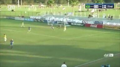 Com gol da piauiense Valéria, Brasil vence Finlândia por 4 a 0 em torneio sub-20 nos EUA - Com gol da piauiense Valéria, Brasil vence Finlândia por 4 a 0 em torneio sub-20 nos EUA; veja