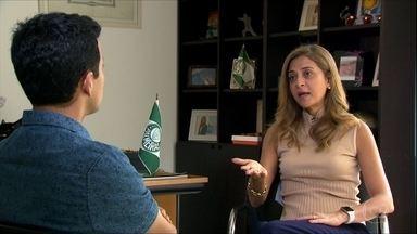 Principal patrocinadora do Palmeiras, Leila Pereira sonha com Neymar no Verdão - Principal patrocinadora do Palmeiras, Leila Pereira sonha com Neymar no Verdão