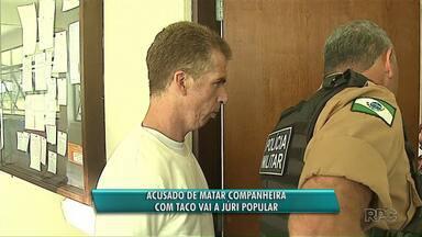 Acusado de matar companheira vai a júri popular, em Ponta Grossa - Ele confessou ter matado a mulher com taco de beisebol.