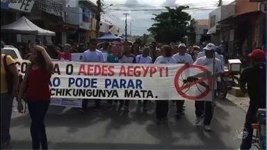 Acompanhe o dia de movimentação de combate ao mosquito Aedes Aegypti no Cedro - Saiba mais em g1.com.br/ce