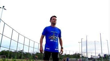Maratonista percorre estado de Pernambuco dando palestrar em escolas públicas - Maratonista percorre estado de Pernambuco dando palestrar em escolas públicas