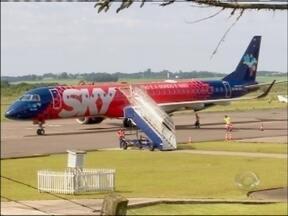 Assinado termo de compromisso para obra de ampliação do aeroporto de Passo Fundo, RS - Cerimônia aconteceu no Palácio Piratini em Porto Alegre, RS