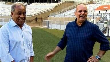 Ex-gandula torcedor do Cruzeiro reencontra ídolo que marcou a infância dele - Ex-gandula torcedor do Cruzeiro reencontra ídolo que marcou a infância dele