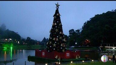 Começa a programação de Natal do Sesc Quintandinha, em Petrópolis, no RJ - Assista a seguir.