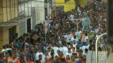 Fiéis celebram o dia de Nossa Senhora da Conceição em Santarém - O dia 8 de dezembro é celebrado o dia da padroeira de Santarém. A programação começou cedo na catedral.