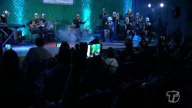 Orquestra Muiraquimbó faz apresentação e lança CD em Santarém - O evento foi marcado pelo lançamento do CD da orquestra.