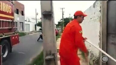 Corpo de Bombeiros registra dois incêndios em cidades do Piauí num fim de semana - Corpo de Bombeiros registra dois incêndios em cidades do Piauí num fim de semana