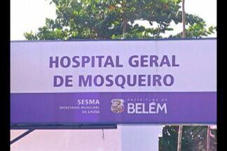 Moradores de Mosqueiro denúnciam falta de atendimento em hospital geral da ilha - A unidade foi recentemente reformada e entregue a população há dois meses.