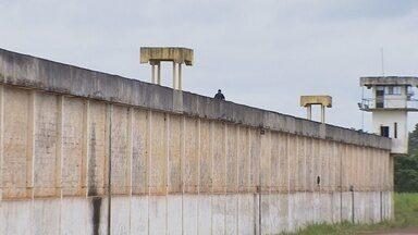 Três detentos fogem do presídio Pandinha durante a madrugada desta segunda-feira (11) - No último sábado (9), doze detentos já haviam fugido do Presídio Milton Soares de Carvalho, o 470.