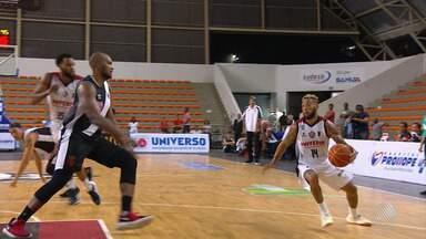Time de basquete do Vitória joga contra o Paulistano nesta segunda (11), pelo NBB - Essa é a quinta partida da equipe baiana na competição e vai acontecer em São Paulo.
