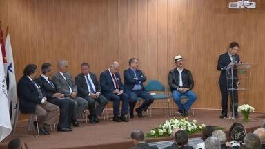 Inauguração da Nova Emprapa Territorial tem presença do Ministro da Cultura - Blairo Maggi participou da cerimônia.
