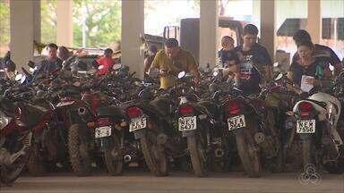 Detran do AP faz leilão de 333 veículos, entre carros e motos, autorizados a circulação - Certame acontecerá no dia 18 de dezembro, em Macapá.