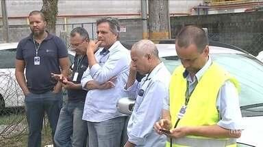 Trabalhadores do Porto de São Francisco do Sul continuam em greve - Trabalhadores do Porto de São Francisco do Sul continuam em greve