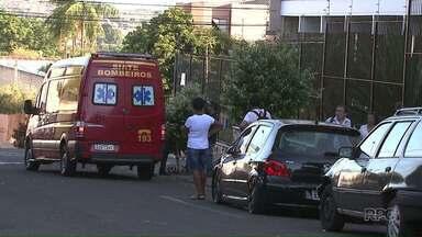 Adolescente fica ferida após cair de prédio no centro de Londrina - A adolescente se desequilibrou e caiu de uma altura de dez metros.