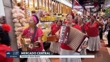Mercado Central também tem festa nos 120 anos de Belo Horizonte - Local foi escolhido a cara de BH