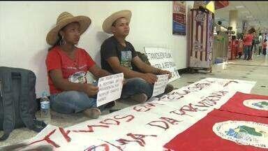 Trabalhadores fazem greve de fome no Piauí - Trabalhadores fazem greve de fome no Piauí