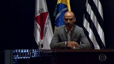Sérgio Sette Câmara apresenta nova diretoria do Galo com Marques, Gallo e Bebeto - Novo presidente do Atlético-MG, Sérgio Sette Câmara fala de planejamento para 2018