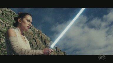 """""""Star Wars, os Últimos Jedi"""" estreia nesta quinta-feira (14) em todo o país - Saga sobre bem e mal ganha novas nuances no oitavo episódio."""