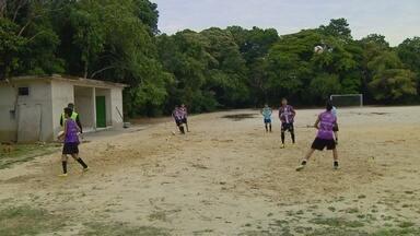 Ex-jogador do Vasco, Tinho, fará peneira em Manaus - Mais informações com o repórter Raphael Pimentel.